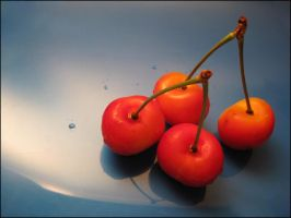Pair of a Pair of Cherries by devianb