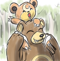 Bears Riding Bears by teckworks