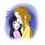 Happy Mothers Day!: Asuna and Yui by XxTaraTheChibixX