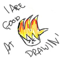 I ARE GOOD AT DRAWIN' by ZeldasTwin