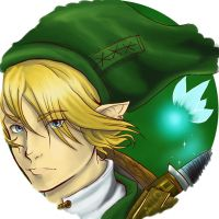 Link keyring by lillytuft