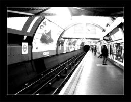 Covent Garden tube by actress