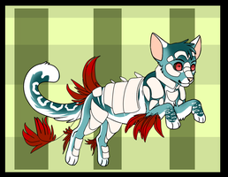 . Adoptable Fantasy Feline .[CLOSED] by Gii-Adoptables