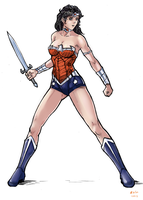 Wonder Woman by kola411