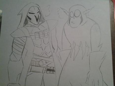 Reaper and Hater by wkeeble12