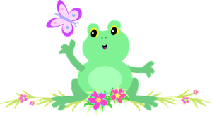 Cute Frog PNG by HanaBell1