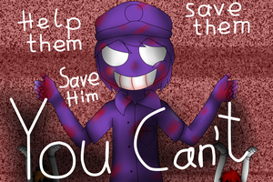 FNaF: Purple Guy as the Puppeter by YellowLuigi