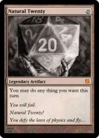 Natural Twenty by Drizzt131