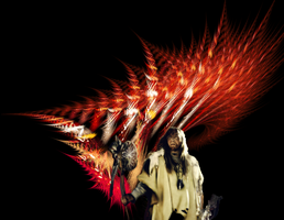 Red Indian Feathers FM by Kazytc