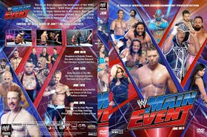 WWE Main Event June 2013 DVD Cover by Chirantha