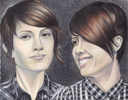 Tegan and Sara III - color by JJRRS