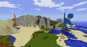 portal two in minecraft by applejuice724