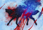 Blood and roses by Alaiaorax