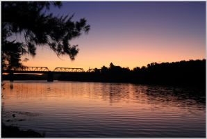 Nepean Sunset by cplcrud