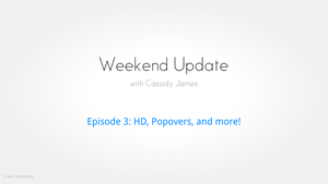 elementary Weekend Update by CassidyJames