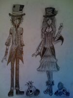 2 Mad Hatters by Flamestar21