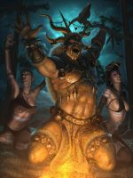 Ladies Love Shamans by IgorIvArt