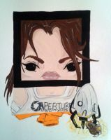 Chell 2 by Squaracters