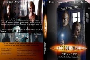 Doctor Who 2009: Fire and Ice - Fan Film DVD Cover by KyleWhisper4