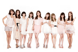 SNSD png by FioreBAP
