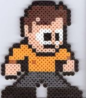 Captain Kirk by Ravenfox-Beadsprites