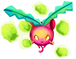 Hoppip used Cotton Spore! by AClockworkKitten
