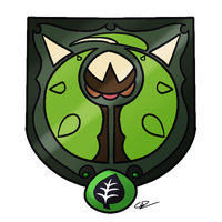 Chesnaught Shield Crest by GdGreat