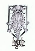 lamb of god by azridjokoloro