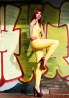 Rocking my yellow pants II by blackfantastix