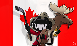 Monstercat - Canada Day by petirep