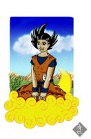 Daughter Goku C wat i did thur by PTR-Trick