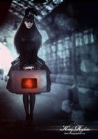 The heart in the suitcase by Black-Nemesi