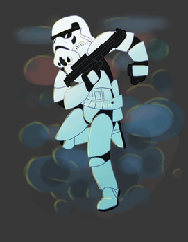 Stormtrooper by WASD-Paint