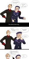 Hetalia MMD: Drunk Norway by Talawolf2014