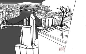 3 point perspective assignment by AniseShaw