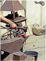 Traditional iron manufacturing 3 by moonik9