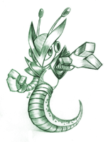 Serpentine - Sketch by R-No71 by SpacemanStrife
