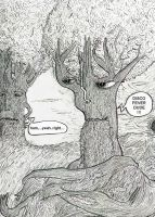 Ents lonely times by glass-eater
