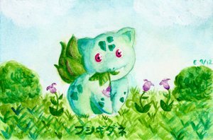 Bulba bulba bulbasaur by lordbatsy