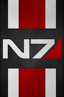 N7 Armor iPhone Wallpaper V1 by EchoLeader
