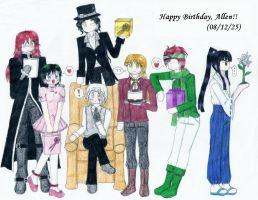 2008 - Happy Birthday, Allen by RPMizu-chan