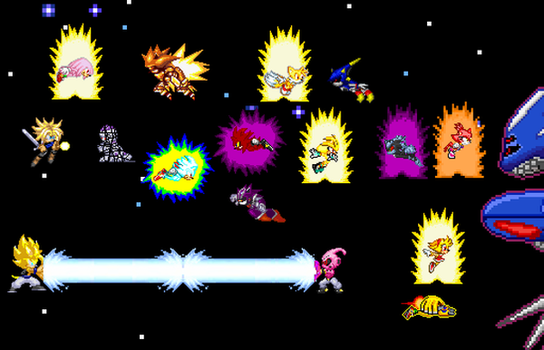 The Ultimate Sonic Showdown by UltimateMetalSonic