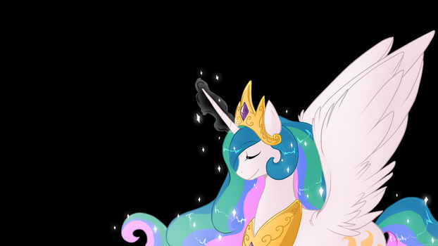 Princess Celestia by luga12345
