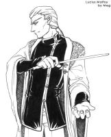 Lucius Malfoy, Inked by foxfur