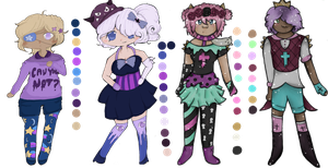 Collab Adopts w/ ZMajoZDraw {2/4 OPEN} by stingrayqueen