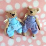 Edward + Lisa's Jointed Bears by MadameWario