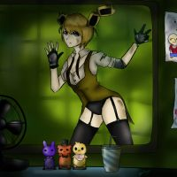 Sexy springtrap by shirokublacknight