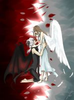 Love Between An Angel And A Demon by NyaTyan