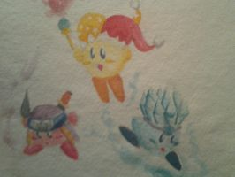 Kirby Mass Attack~ by Obscuratio