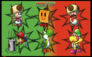 Mario y Luigi Partners in Time by MRTTQM